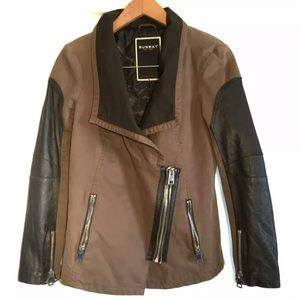 Runway New York Moto Jacket - Genuine Leather